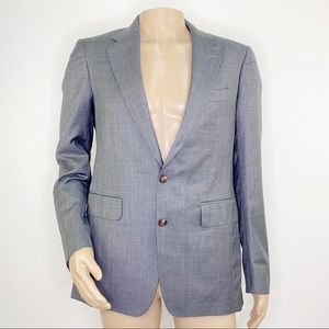 Thomas Pink 2-Button Gray Wool Sport Jacket Size 40R NEW